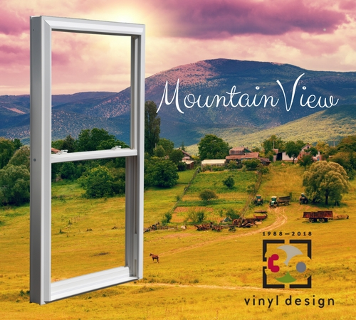 The Benefits of MountainView Vinyl Windows